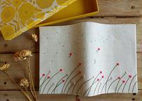 ブックカバー 『風にのって』 貼り箱付き 作家:timpani