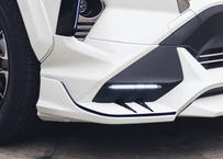 RAV4 TRD用 フロントサイドスポイラー 未塗装品 ダブルエイト