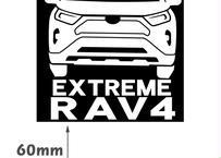 RAV4 ステッカー エクストリーム 正方形