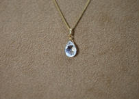 White Topaz Pendant Top