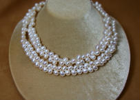Cleopatra F.W.Pearl Long Necklase