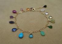 Multi Color Mix Stone Bracelet