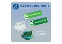GeG / Goosebumps Musicロゴ ステッカー4種セット