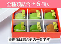 口福餅(6個入り・全種類詰め合わせ)