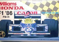 アオシマ  1/43 ウイリアムズ・ホンダF-1