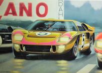 フジミ 1/24 '66 フォード GT40 Mk-2