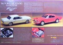 ユニオン 1/25 '66フォードマスタング ハードトップ
