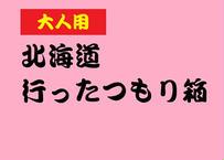 ※販売終了【特別企画】北海道行ったつもり箱(大人用)
