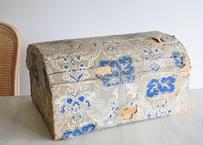 アンティーク ドミノペーパー ボックス 木箱 シャビー インテリア 【2020DEC-005】