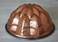 コッパーモールド 銅製 ケーキ型  大 直径23.4cm〖202101-01〗