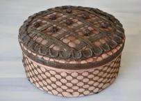 フランスアンティーク チョコレートBOX マルキーズドセヴィニエ シルクボックス 直径18.4cm