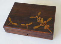 ヤドリギ やどりぎ アンティーク 木製ボックス 木箱