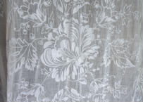 美しいコーネリー刺繍 大判クロス 縦240cmx横190cm【2020DEC-045】