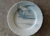 LUNEVILLE リュネビル 燕 つばめ ツバメ柄のディナー皿 直径25.3cm