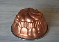 コッパーモールド 銅製 ケーキ型  直径14.3cm〖202101-08〗