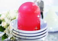 結婚・恋愛運 盛り塩卵<ピンク>