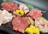 送料無料!たっぷり1.2㎏ 焼肉満腹セット【3種類のタレ付き】