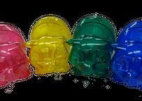ハッピー・マネー®のピギーちゃん、お得な2個入りセット(4色の中からご希望の2色を『オプション』欄にご記入ください(同色2個も可)。色指定がない場合は、こちらで選択してお送りいたします。)
