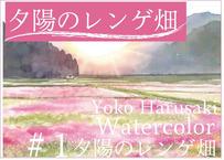 『 春崎陽子動画講座 #1』 夕陽のレンゲ畑