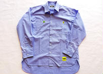 ROIKA/ブロードシャツ/サックス