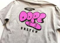 ROIKA/DOPESKETCH/Tシャツ/ グレー
