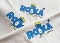 ROIKA/BOMF/Tシャツ/ナチュラルベージュ