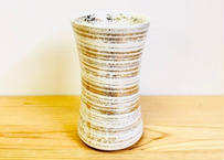 白マット吹金かすり杵型ビアグラス