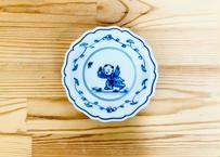 唐子絵豆皿(十方切)