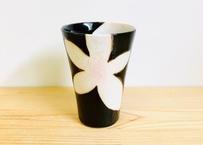 錦花美人(黒)ビアカップ