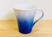 藍染水滴手付ビールカップ