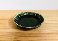 木甲型10㎝小皿 織部