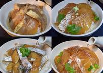 季節茶漬け4種セット【季節により魚種が変更になります】