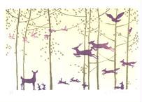 植田 しげ子『森の日 #2』