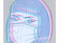 瀬崎 百絵『BOOM 2020 Version 04 #2』