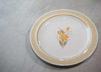 Anchor Hocking プレート_アメリカのブランドを日本で作っていた時代のアンティーク絵皿だよ!