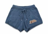 マシュマロボアラビット刺繍1分丈パンツ