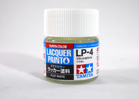 ラッカー塗料 LP-4 フラットホワイト