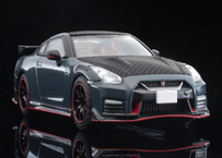 """【予約】トミーテック トミカリミテッドビンテージネオ1/64""""LV-N254a NISSAN GT-R NISMO Special edition 2022 model (グレー) 3月"""