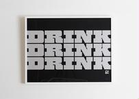 House Industries×I'M OK ポスター作品 (DRINK) ; 3333340084315