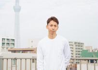 ZA TOKYO ベーシッククルーネック ロングTシャツ  ポケット付