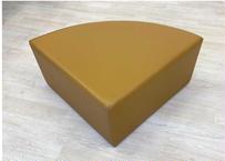 【アウトレット品】ブロッククッションマット(扇形 滑止付)4個1セット