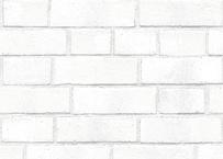 壁紙シール2.5M 【白レンガ】