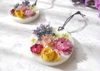 《花遊びアロマワックスサシェ》Colorful Plates
