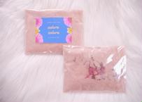 2個セット【FLOWER BATH SALT】「sakura sakura」