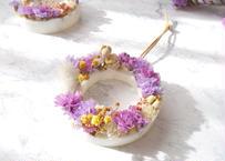 《花遊びアロマワックスサシェ》Flower Cakes