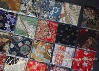 Japanese Cloth  Kimono Taste Coaster  (12 pcs)