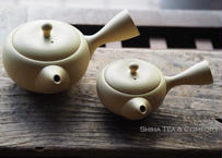 常滑焼高資品茶急須 Tokoname Tasting Kyusu Teapot 2pcs (100ml & 230ml)
