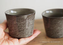 横石臥牛霙刷毛杯 Yokoishi Gagyu White Clay Brushing Ceramic Cups
