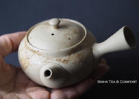 白山白泥藻掛小茶壺 HAKUSAN Mogake Small Teapot (150ml)