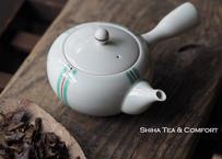 香蘭社白磁大急須茶壺 KORANSHA White Porcelain Teapot